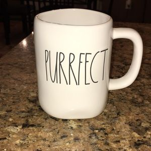 Rae Dunn Purrfect Cat Mug